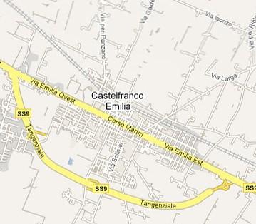Mappa Castelfranco piccola