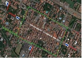 Mappa limitazioni traffico piccola